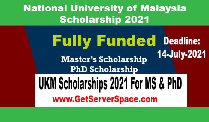 UKM Scholarships 2021 in Malaysia For MS & PhD [Fully Funded]