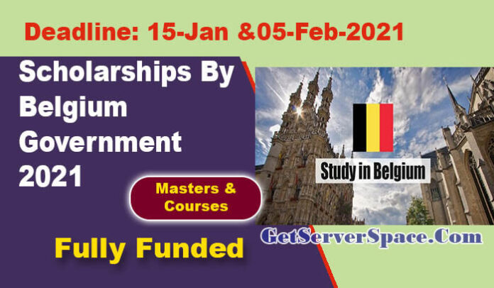 Master & Training Scholarships By Belgium Government 2021 [Fully Funded]