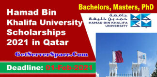 Hamad Bin Khalifa University Scholarships 2021 in Qatar For Foreigners [Fully Funded]