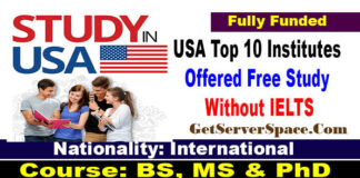 USA Top 10 Institutes Offered Free Study Without IELTS