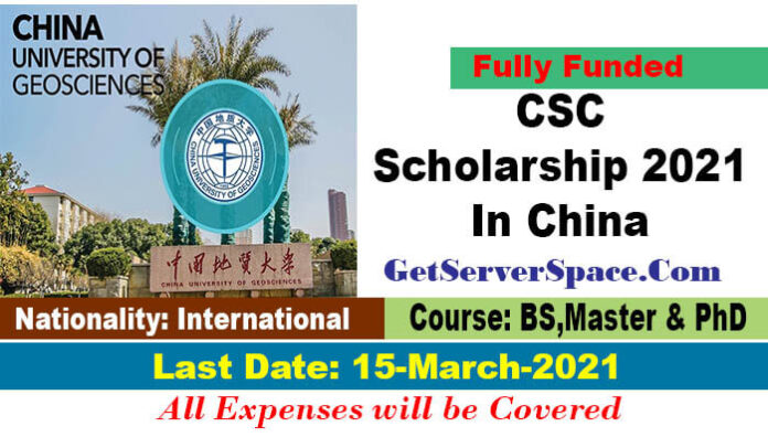 China University of Geosciences CSC Scholarship 2021 In China[Fully Funded]