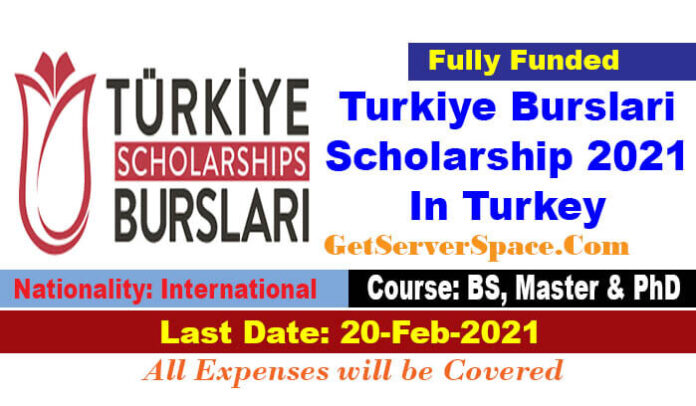 Turkiye Burslari Scholarship 2021 In Turkey For Foreigners [Fully Funded]