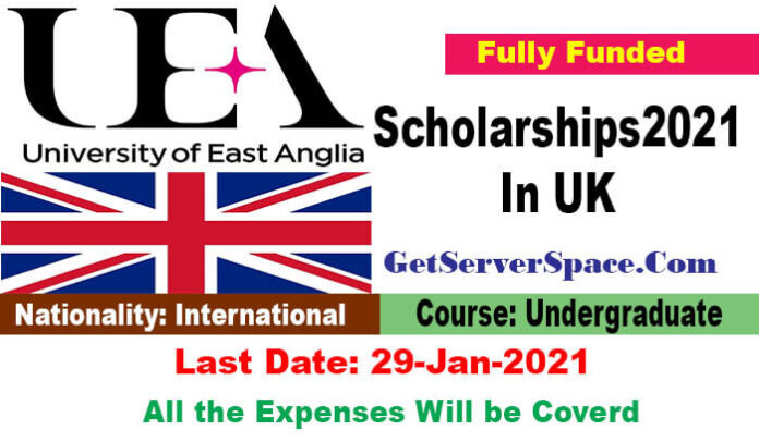 University of East Anglia Scholarships 2021 In UK[Fully Funded]