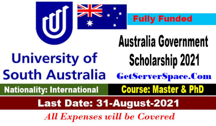 University of South Australia Scholarship 2021 in Australia For MS & PhD [Fully Funded]