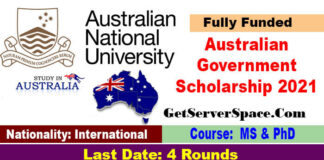 Australian Government Research Scholarship 2021 in Australia [Fully Funded]