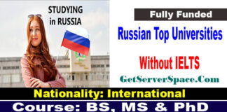 Russian Top Universities Without IELTS For International Students