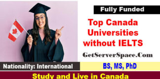 TopCanada Universities without IELTS for International Students