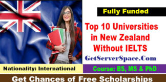 List of Top 10 Universities in New Zealand Without IELTS