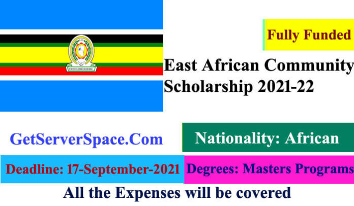 East African Community Fully Funded Scholarship 2021-22